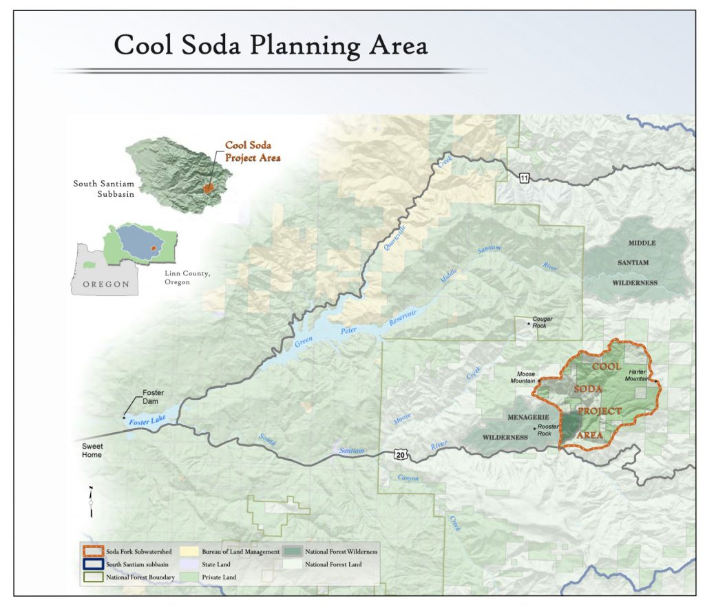 Cool Soda planning area map