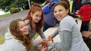 Outdoor School girls